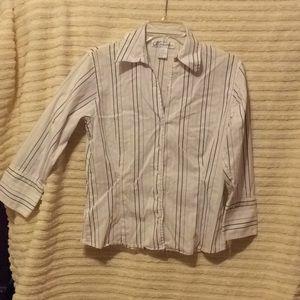 Dress Barn ladies blouse size 8